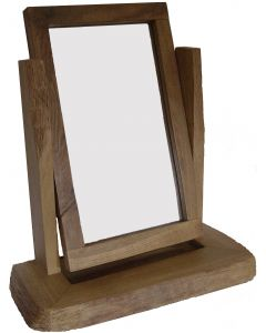 Rustic Mirror - Waney Edge Desk Top