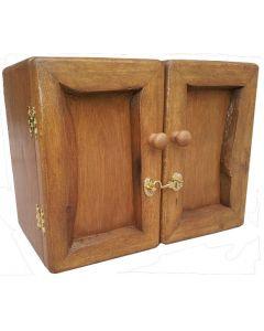 Pill box and mini wardrobe - closed view.