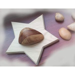 Oak Memorial Stars Plinth Set of 5 (small angle style)