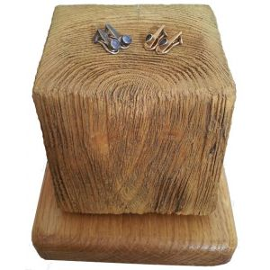 Set of Beach Groyne jewellery Stands - stumps