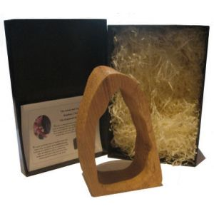 Wooden Hollow Log Presentation Box