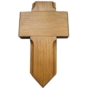 Pet and small grave marker cross (Dark oak)