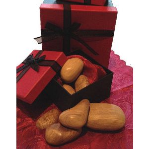 Wooden stones Presentation Box Set of 10 (Light Oak)