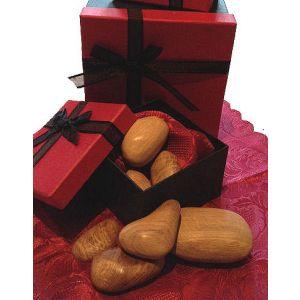 Wooden stones Presentation Box Set of 10 (Light Oak)