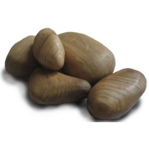 Wooden stones Set of 10 (Light Oak)