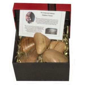 Wooden stones Presentation Box Set of 5 (MixedOaks)