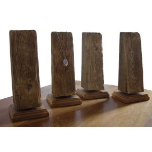 Set of Beach Groyne jewellery Stands - tall