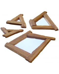 Set of 4 mirrors