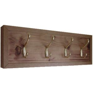 Rustic Coat Rack - Style No1