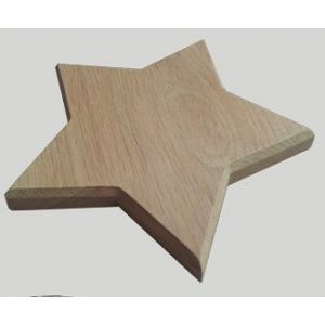 Oak Memorial Stars Plinth Set of 10 (small angle style)