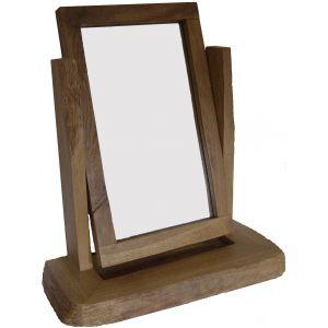 Rustic Mirror - Waney Edge Desk Top