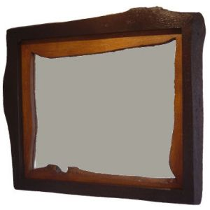 Rustic Mirror - The Shabby Chic Double Reverse