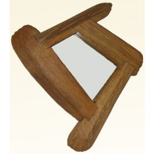 Past Times Mirror Off Square Small - Sconce