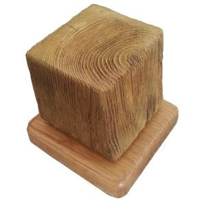 Single Beach Groyne jewellery Stand - stump