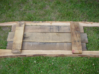 Outdoor Rustic Table